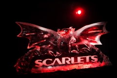 Scarlets Badge Ice Sculpture