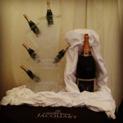 Jacquart Champagne Bottle Chiller Polo at the Manor