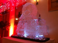 Mercedes-Benz Vodka Luge and Bottle Cooler