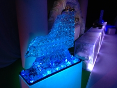 1M tall Ski Jump Vodka Luge