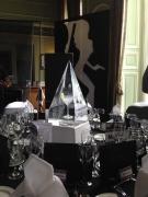 Martini Glass 'Vesper Drink' in ice Pyramid
