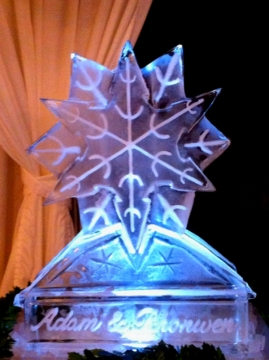 Snowflake Double Drinks Luge
