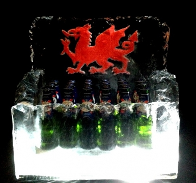 Beer Cooler Trough with engraving
