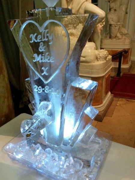 Kelly & Mike's Sculpture in-situ