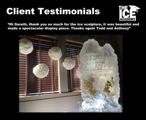 Client testimonials Todd
