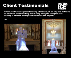 Client testimonials bride and groom