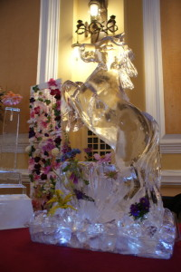 Horse with Wild Flowers