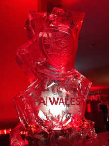 FA Wales Engraved Champagne Cooler