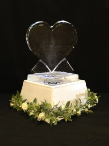 Heart-Shaped Table Centre Plaques.