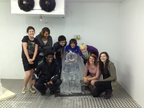 Ice Sculpting Party