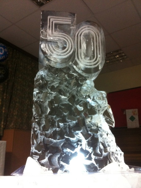 Giant 50 Drink Luge