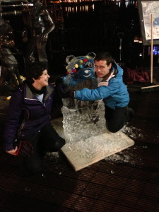 Laura & Gareth with Pudsey