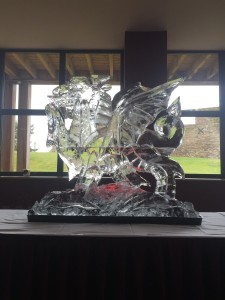 Welsh Dragon for St. David's Day celebrations at The Celtic Manor