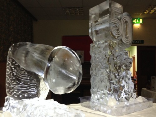 Giant Winky Luge & a Birthday Number Luge