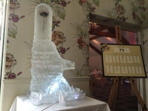Beauty and the Beast Dome with Vodka Luge