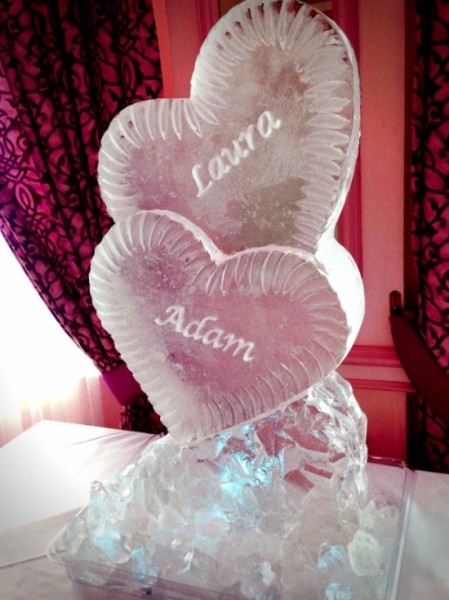 Double Heart – Engraved