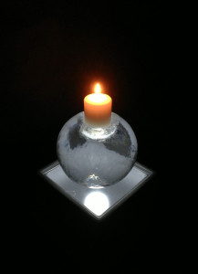 Sphere Candlestick